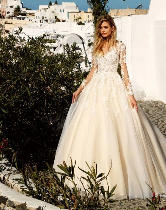 Цвета свадебных платьев 2021: основные тренды 12