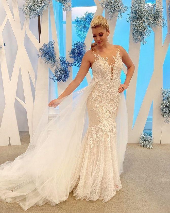 Цвета свадебных платьев 2021: основные тренды 11