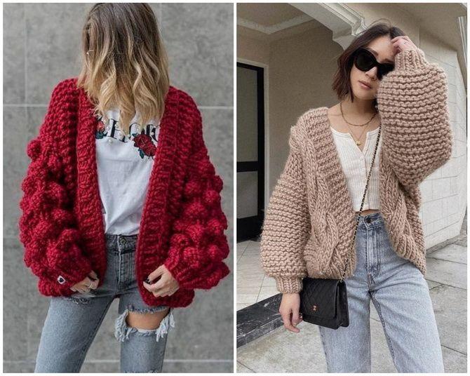 Короткий кардиган – модний атрибут осіннього гардеробу 2021-2022 15