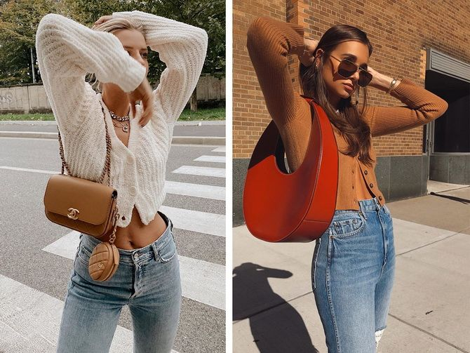 Короткий кардиган – модный атрибут осеннего гардероба 2021-2022 26