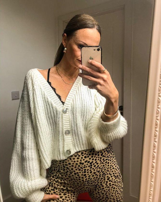 Короткий кардиган – модний атрибут осіннього гардеробу 2021-2022 3