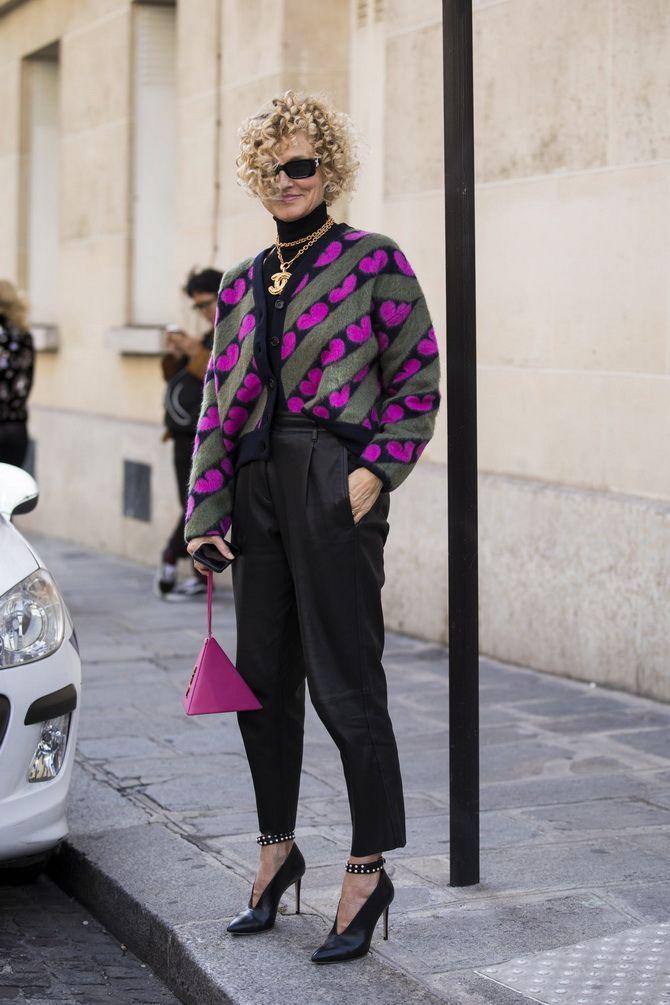 Короткий кардиган – модный атрибут осеннего гардероба 2021-2022 6