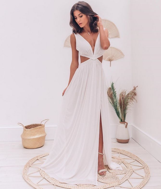 У грецькому стилі: красиві та ніжні сукні 2020-2021 10
