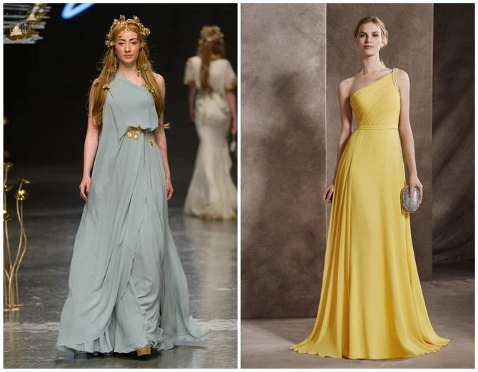 У грецькому стилі: красиві та ніжні сукні 2020-2021 17