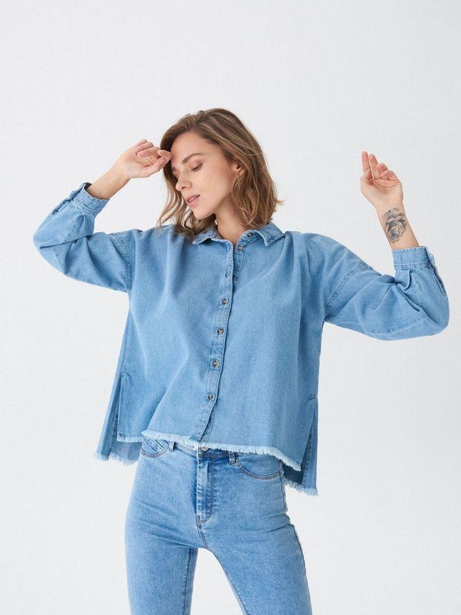 Жіноча сорочка оверсайз: як носити в 2021-2022 році 19