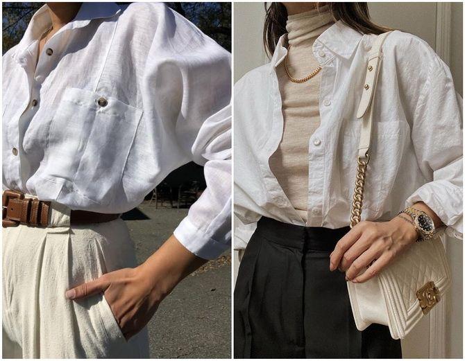 Жіноча сорочка оверсайз: як носити в 2021-2022 році 10