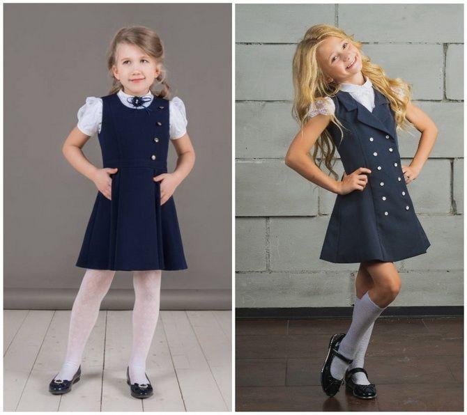 Шкільні блузки для дівчаток: створюємо сучасний образ у 2021-2022 році 6