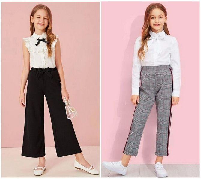 Шкільні блузки для дівчаток: створюємо сучасний образ у 2021-2022 році 7