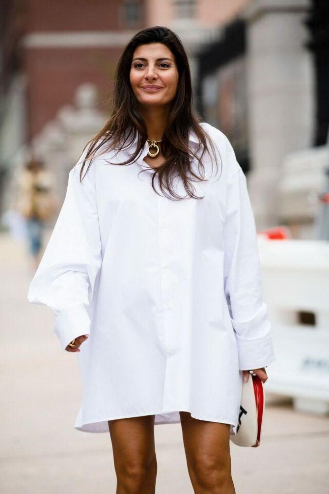 C чем носить белую рубашку: модные идеи 2020-2021 1