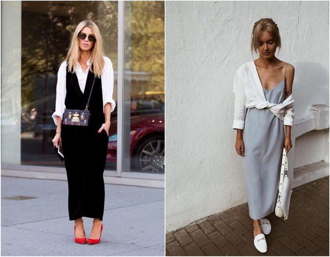 C чем носить белую рубашку: модные идеи 2020-2021 14