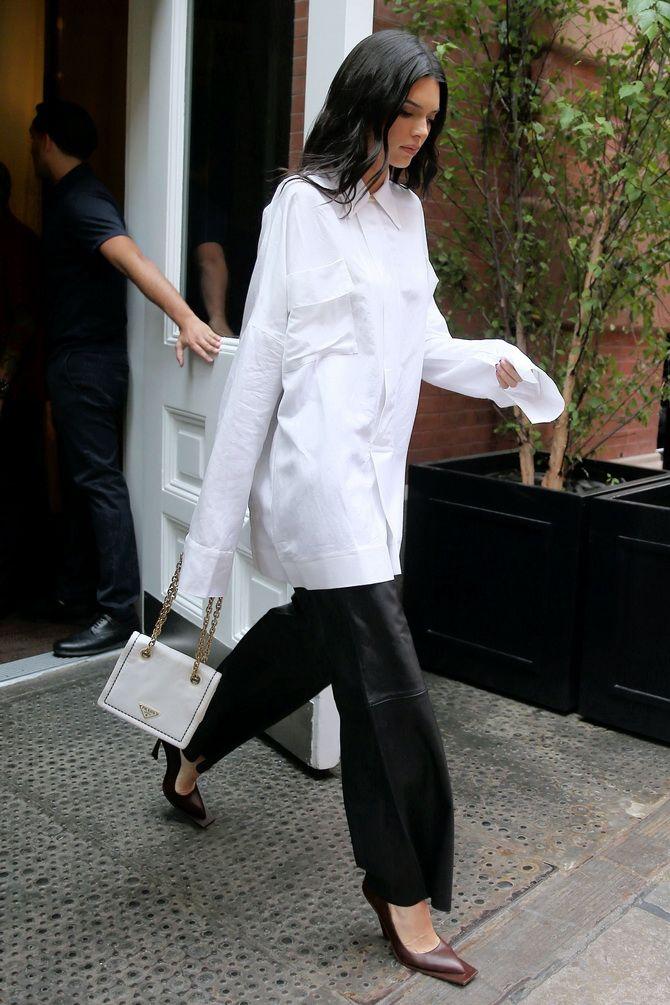 C чем носить белую рубашку: модные идеи 2020-2021 18