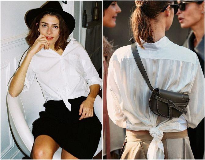 C чем носить белую рубашку: модные идеи 2020-2021 19