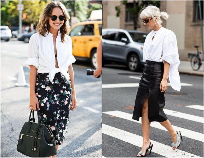 C чем носить белую рубашку: модные идеи 2020-2021 2