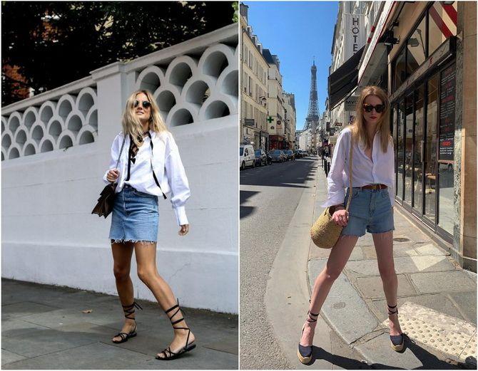 C чем носить белую рубашку: модные идеи 2020-2021 22