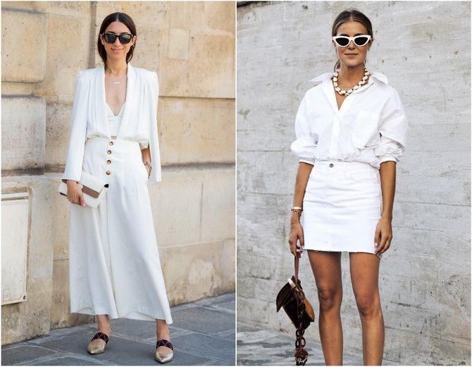C чем носить белую рубашку: модные идеи 2020-2021 24