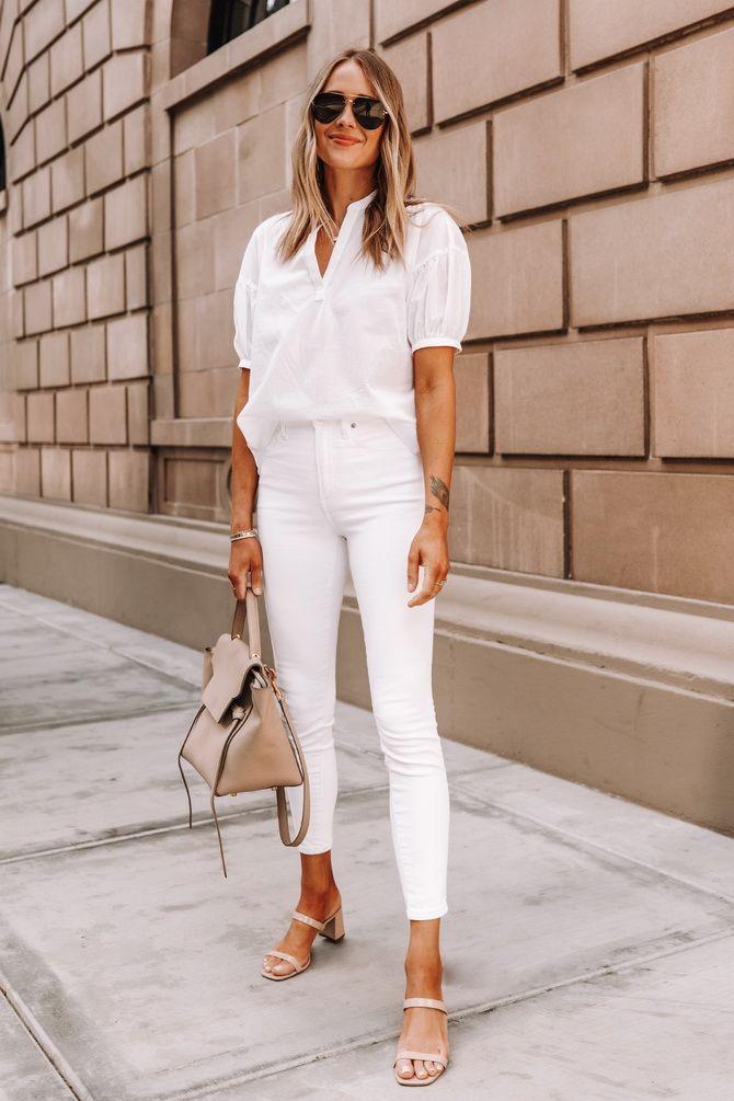 C чем носить белую рубашку: модные идеи 2020-2021 25