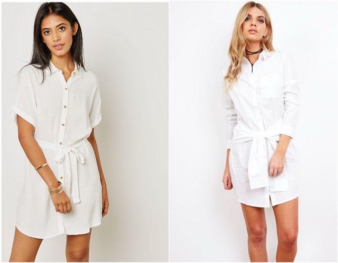 C чем носить белую рубашку: модные идеи 2020-2021 26