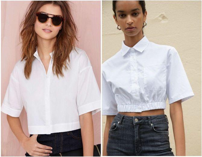 C чем носить белую рубашку: модные идеи 2020-2021 29