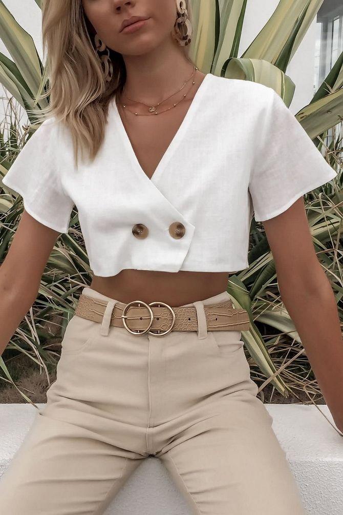 C чем носить белую рубашку: модные идеи 2020-2021 31