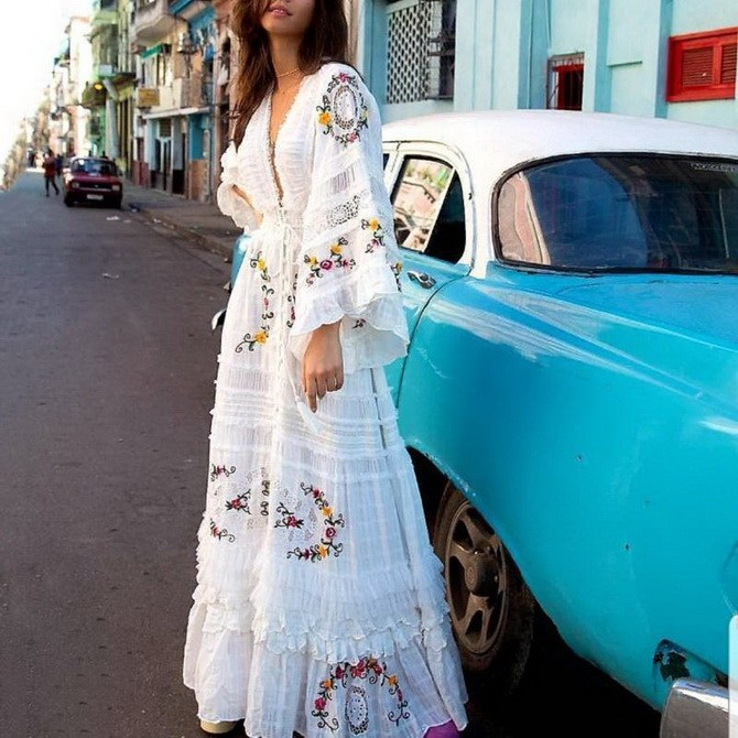 Сукні з вишивкою – кращі моделі сезону 2020-2021 34