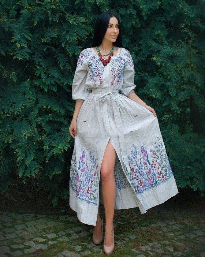 Сукні з вишивкою – кращі моделі сезону 2020-2021 31