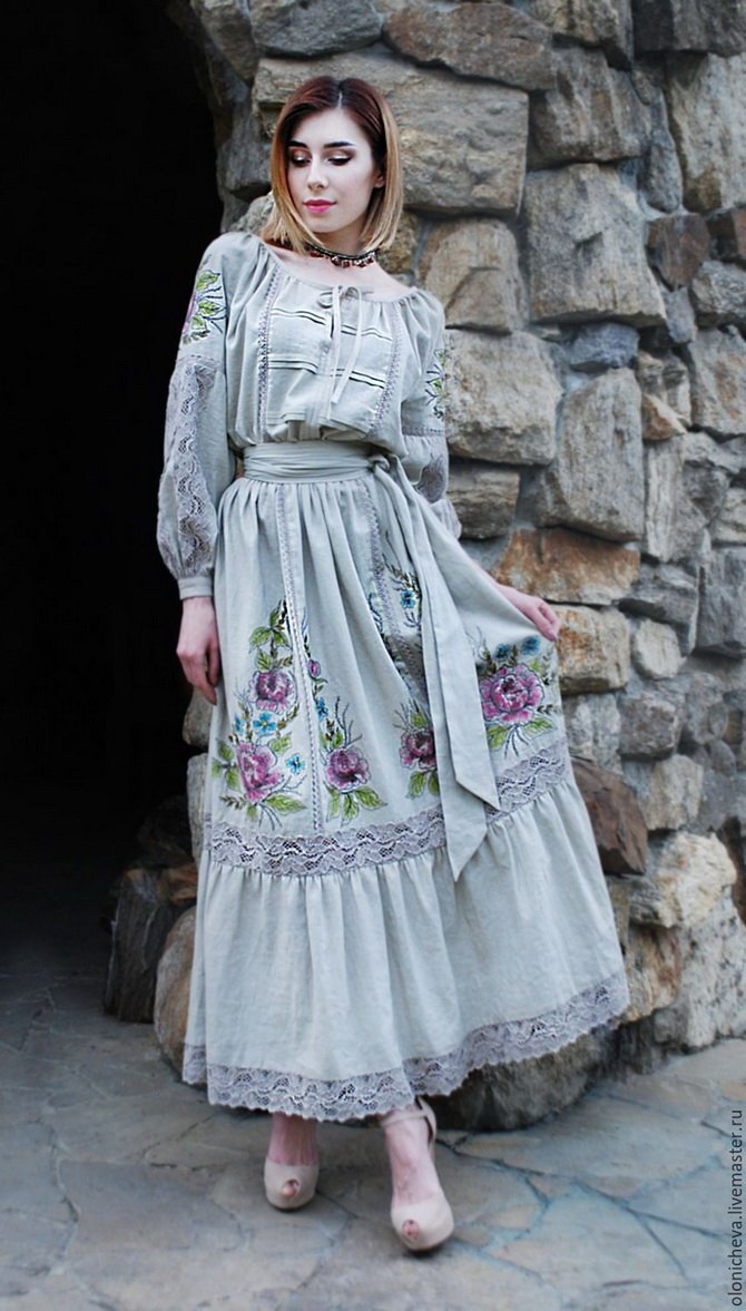 Платья с вышивкой — лучшие модели сезона 2021-2022 35