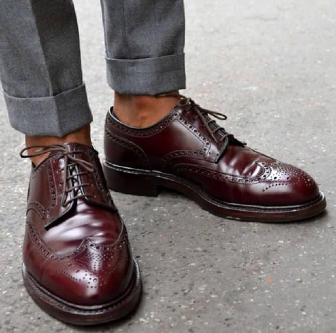 как сочетать брюки и обувь мужчинам