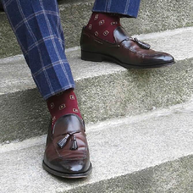 как сочетать брюки и обувь для мужчин
