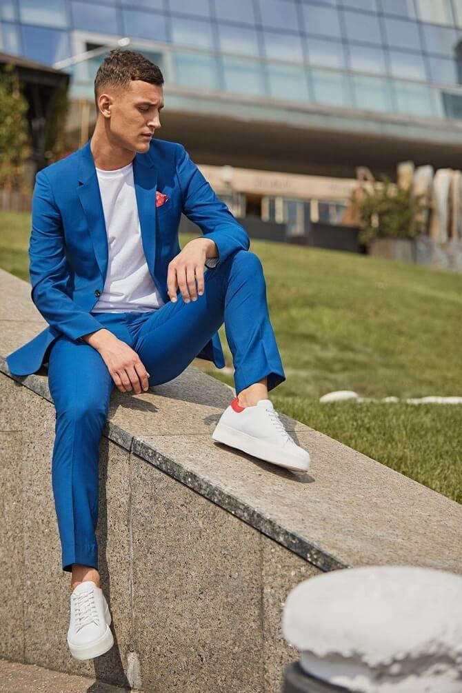Сочетание брюк и обуви для мужчин