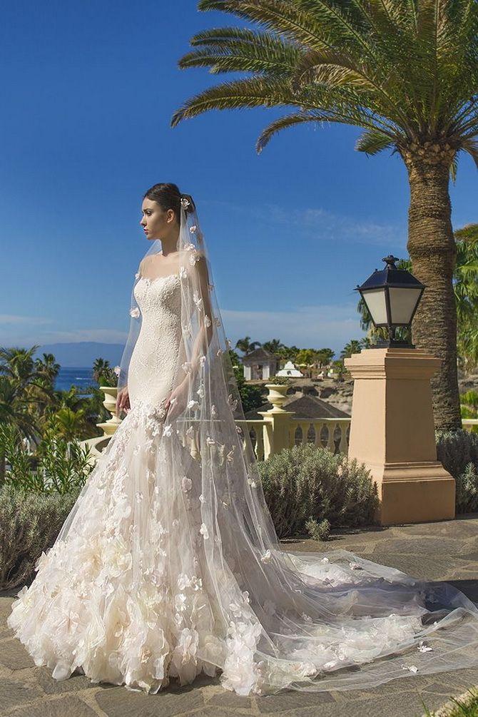 Цвета свадебных платьев 2021: основные тренды 17