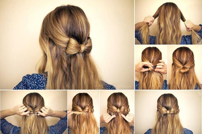 Красивые прически на 1 сентября с распущенными волосами для девочек 13