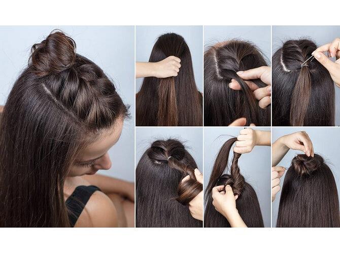 Красивые прически на 1 сентября с распущенными волосами для девочек 6