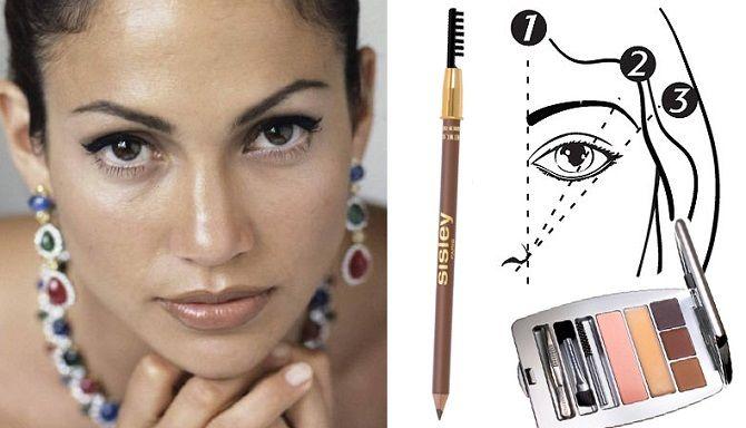 Ідеальна форма брів: ідеї для різних типів обличчя, модні тенденції 2020 року 10