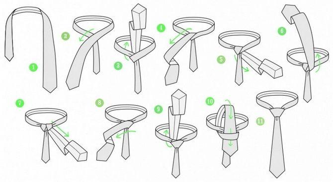Як зав'язати краватку – 5 кращих способів 6