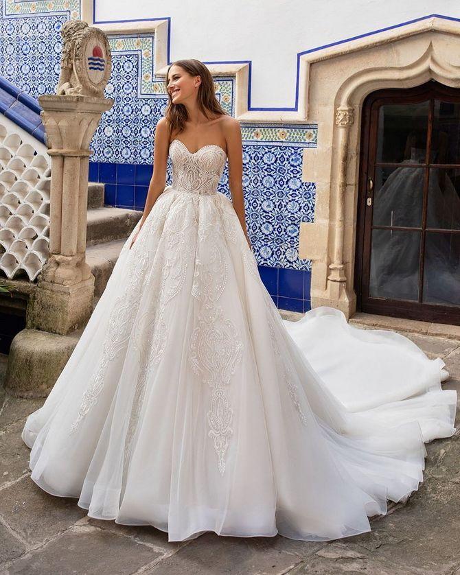 Цвета свадебных платьев 2021: основные тренды 13