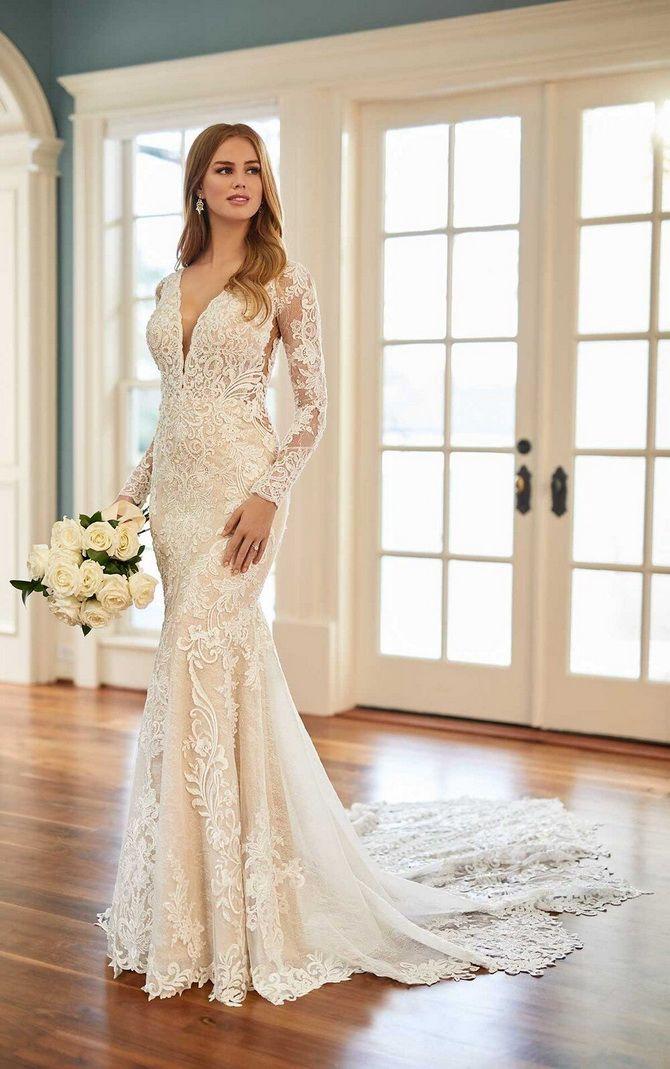 Цвета свадебных платьев 2021: основные тренды 10