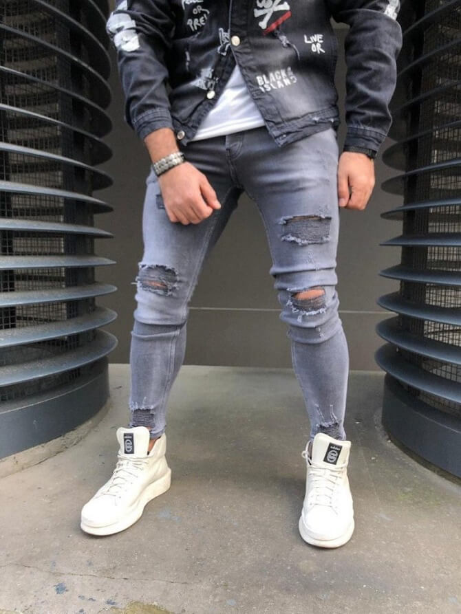 какая обувь подходит под джинсы для мужчин