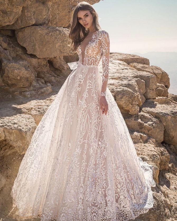 Кольори весільних суконь 2021: основні тренди 4