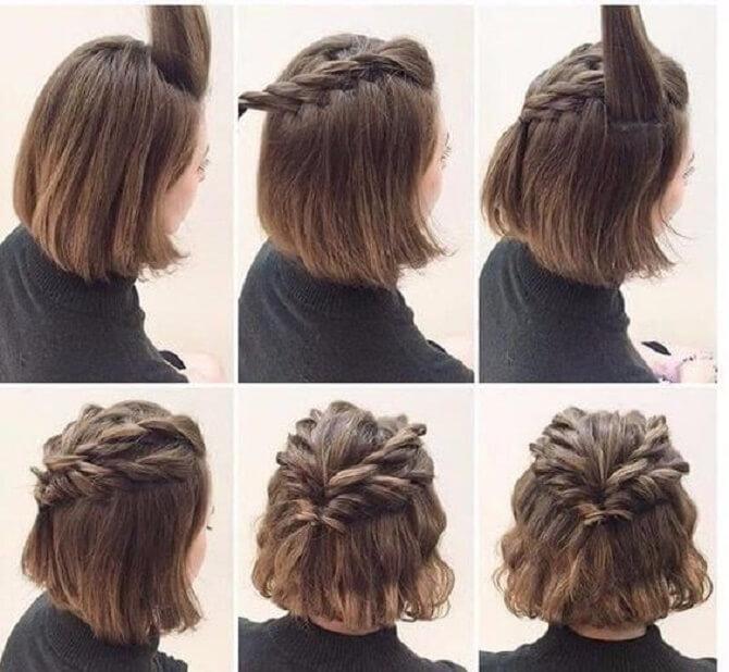 Красивые прически на 1 сентября с распущенными волосами для девочек 29