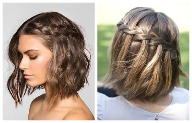 Красивые прически на 1 сентября с распущенными волосами для девочек 33