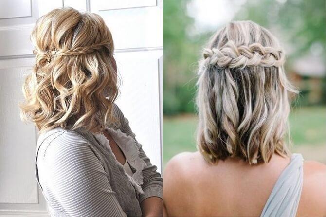 Красивые прически на 1 сентября с распущенными волосами для девочек 32