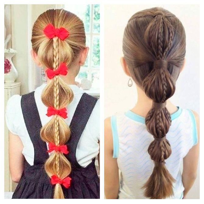 Легкие и очаровательные прически для девочек в школу: лайфхаки, идеи, советы 15