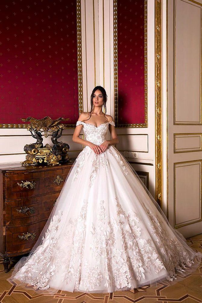 Цвета свадебных платьев 2021: основные тренды 23
