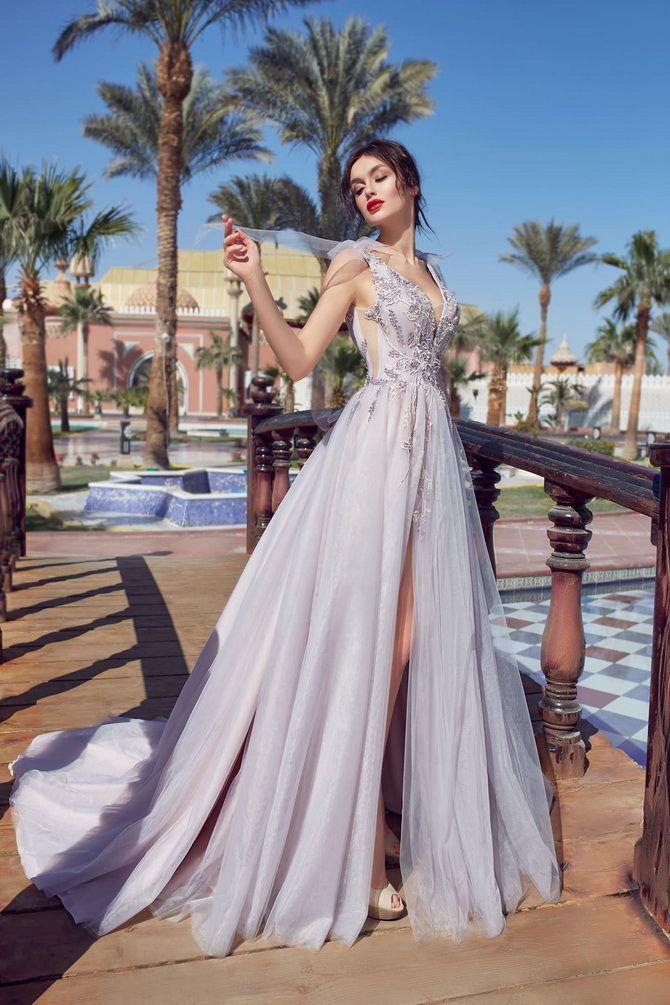 Цвета свадебных платьев 2021: основные тренды 33