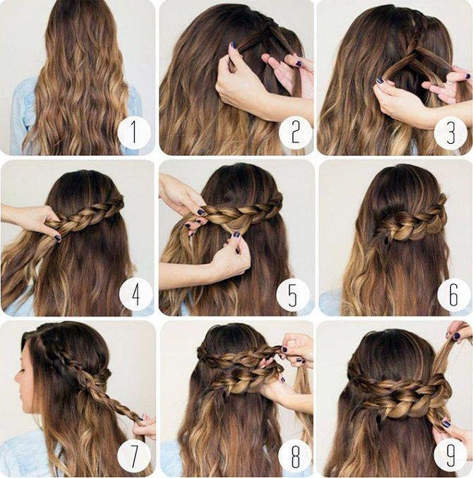 Легкі та чарівні зачіски для дівчаток в школу: лайфхаки, ідеї, поради 6
