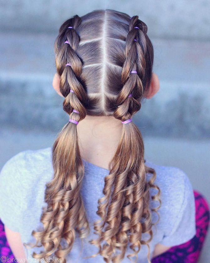 Легкие и очаровательные прически для девочек в школу: лайфхаки, идеи, советы 8