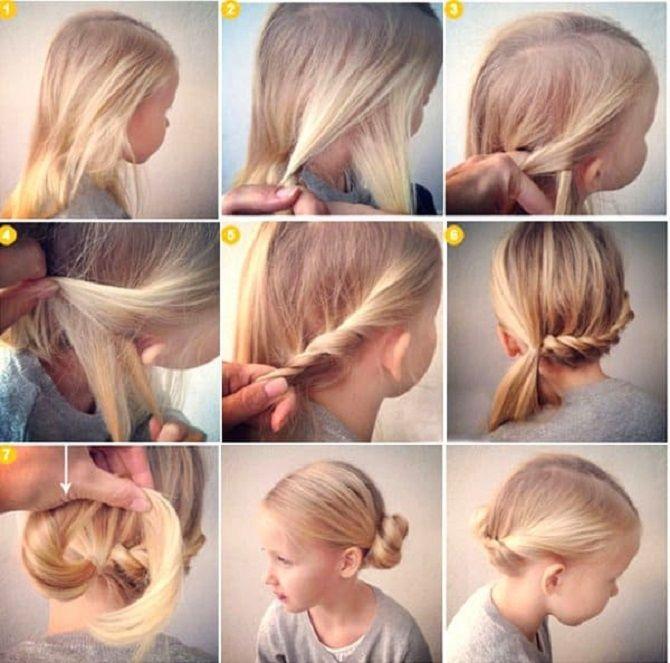 Легкі та чарівні зачіски для дівчаток в школу: лайфхаки, ідеї, поради 9