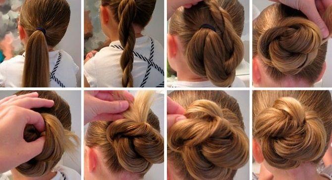 Легкі та чарівні зачіски для дівчаток в школу: лайфхаки, ідеї, поради 10