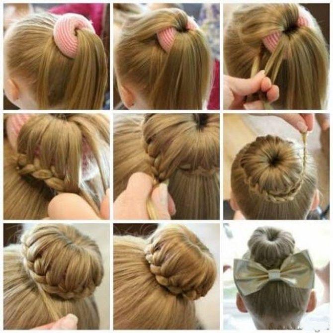 Легкі та чарівні зачіски для дівчаток в школу: лайфхаки, ідеї, поради 12