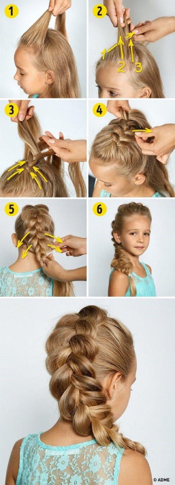 Легкі та чарівні зачіски для дівчаток в школу: лайфхаки, ідеї, поради 16